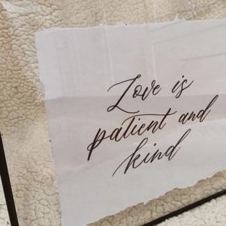 Handwritten Items